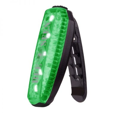 Bee Seen Led Clip Light USB Green