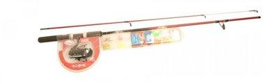 Jarvis Walker -Redbone 1.80 cm spinhengel met molen