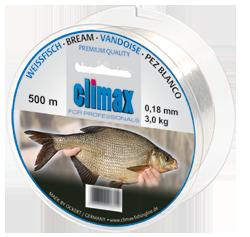 Climax - Lijn special Brasem-Witvis 0,15mm 2,4 kg 500mtr