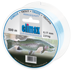 Climax - Lijn special Forel  0,20mm 3,7 kg 500mtr