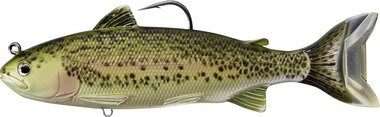 Live Target Trout(adult) Swimbait Sinking MD 71gr/16,5cm Olive/Red