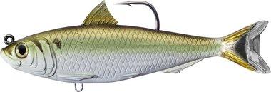 Live Target Blueback Herring Swimbait Sinking MD 57gr/16,5cm Green/Bronze