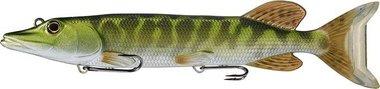 Live Target Juvenile Pike Swimbait Sinking MD 244gr/30,5cm Metallic/Green