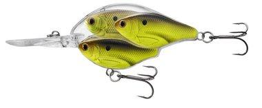 Live Target Squarebill Shad Crankbait Floating SD 14gr/6cm Chartreuse/Black