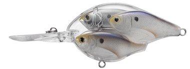 Live Target Shad Crankbait Floating MD 18gr/6,35cm Pearl/Grey