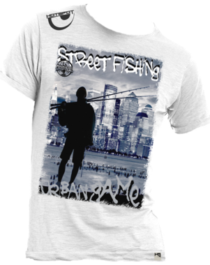 Hotspot design - T-shirt street fishing M/L/XL/XXL
