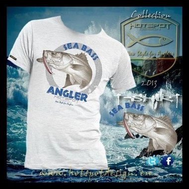 Hotspot design - T-shirt sea fishing M/L/XL/XXL