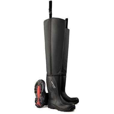 Dunlop Purofort+ Thigh Wader Full Safety lieslaars S5 stalen neus