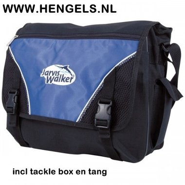 Jarvis Walker - tackle bag incl box en tang