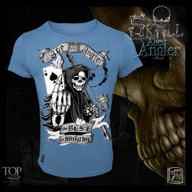 Hotspot design - T-shirt Skull Ice angler M/L/XL/XXL