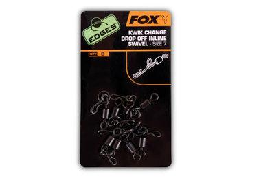 fox - edges kwick change drop off inline swivel size 7