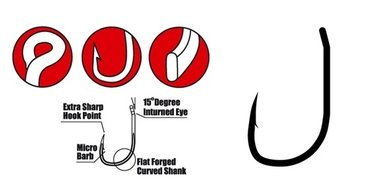 gamakatsu - haak specialist r met oog size 4