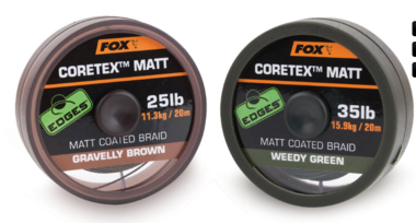 fox - edges coretex matt 20 m 15 lb 6.8kg