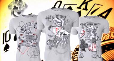 Hotspot design - T-shirt poker king off carpfishing M/L/XL/XXL