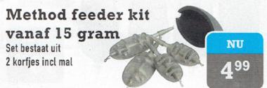 Method feeder kit 15gram