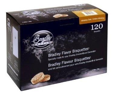 Bradley -WHISKEY EIKEN/OAK Bisquetten, 120 Stuks