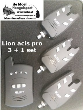 Lion acis pro wireless bite alarm 3+1