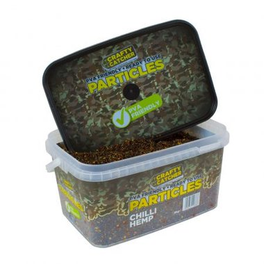 crafty catcher chilly hemp particles 3 kg