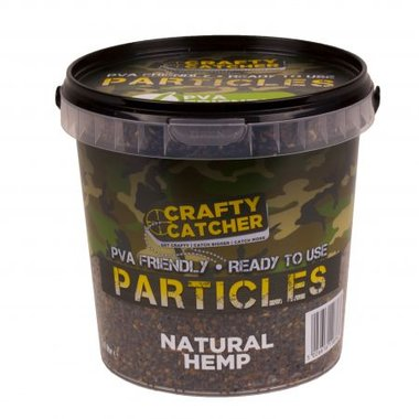crafty catcher hemp particles 1,1 l