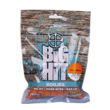 crafty catcher big hit boilies tutti frutti 10mm 250g