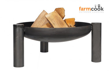Farmcook Pan 378firebowl 60/ 70 /80 cm unpainted