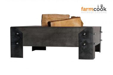 Farmcook Pan 3 firebowl 60/ 70 /80 cm unpainted