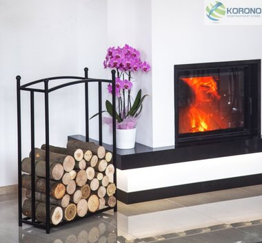 Korono houtstandaard recht 90x60x25