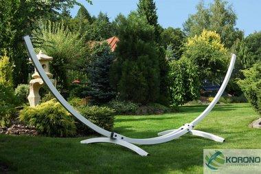Korono standaard voor hangmat tot 250 kg. zilver of Wit