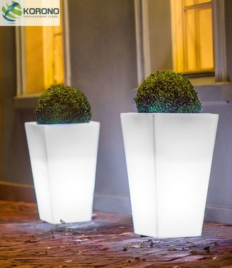 korono led lamp slim M110x52x52cm lamp wit