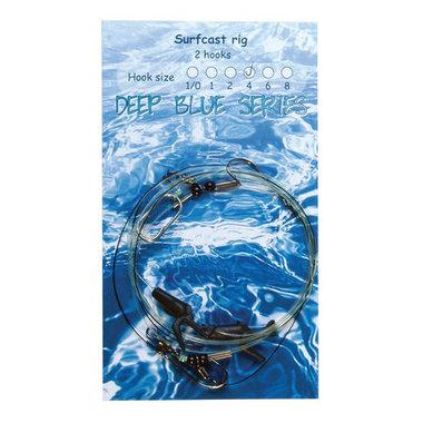 Deep Blue Surfcast Rig 2-Haaks H4