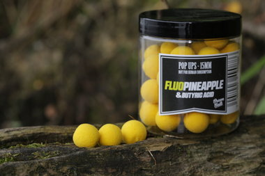 dreambaits pineapple fluo pop up
