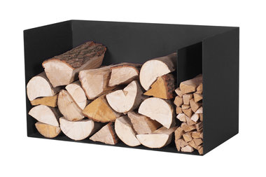 Magnus Firewood Racks R126 black 70x35X40cm