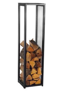 Magnus Firewood Racks R119 black 30x30X120cm