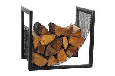 Magnus Firewood Racks R118 black 50x40X50cm