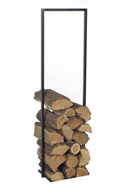 Magnus Firewood Racks R112A black 45x25x80cm
