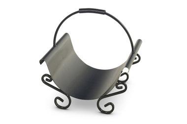 Magnus Firewood basket K12 black 43x36x44cm