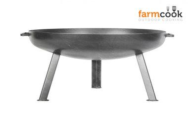 Farmcook Pan 44 firebowl 60/ 70 /80 cm unpainted