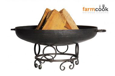 Farmcook Pan 43 firebowl 60/ 70 /80 cm unpainted