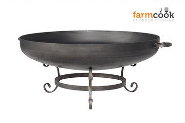 Farmcook Pan 42 firebowl 60/ 70 /80 cm unpainted