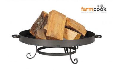 Farmcook Pan 32 firebowl 60/ 70 /80 cm unpainted