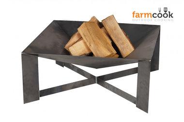 Farmcook Pan 34 firebowl  70 cm unpainted