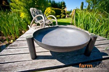 Farmcook Pan 38 firebowl 60/ 70 /80 cm painted