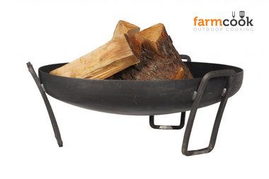 Farmcook Pan 39 firebowl 60/ 70 /80 cm unpainted