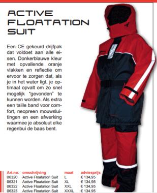 Albatros - Active floatation suit/ drijfpak
