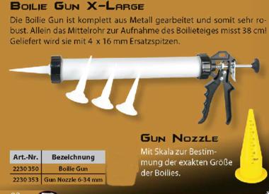Anaconda - Boilie gun spuitstuk geel
