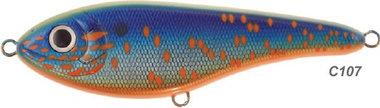 Strike pro - kunstaas Strike Pro Buster Jerk (EG48) 15 cm, 75 gram, VMC hooks