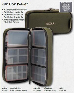 soul -Six box Wallet 02984