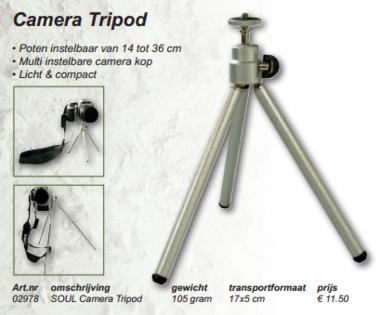 soul -camera tripod
