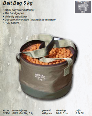 soul -bait bag 5 kg 02964