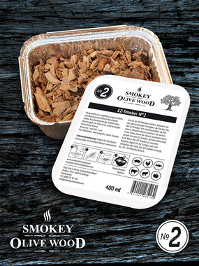 Smokey Olive wood EZ-Smoker 6 pack nr 2 400ml